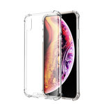 Atouchbo Backcover Anti-Shock TPU + PC voor Apple iPhone X Transparant