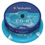 CD-R 700 MB 25 Stuks