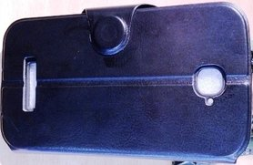 ALCATEL C7 Wallet Book Case Zwart