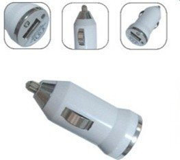 usb car charger White