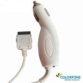 Iphone Autolader Colorfone Wit