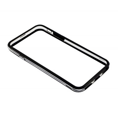 Bumper Case iphone 6 Black/transparent