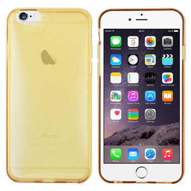 TPU Silicone voor Apple iPhone 6 plus Gold