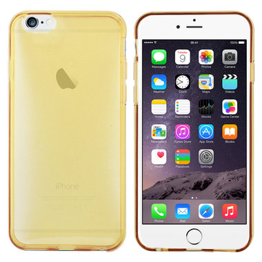 TPU Silicone voor Apple iPhone 6 Gold