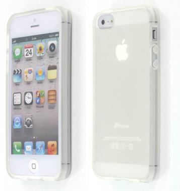 iphone 5 TPU CASE Transparant + gratis folie