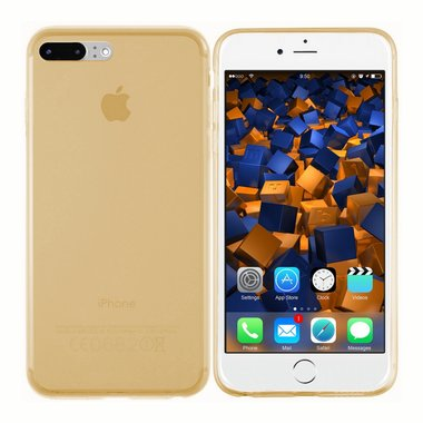 Apple iPhone 7 Plus Tr. Goud hoesje