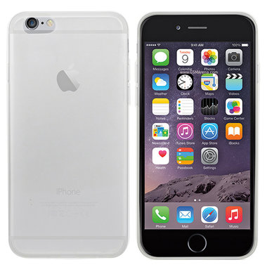 Apple iPhone 6/6S Tr. Wit hoesje