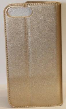 iPhone 7 Plus Book Case Gold