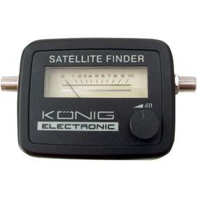 Signaalsterktemeter voor satellietschotels