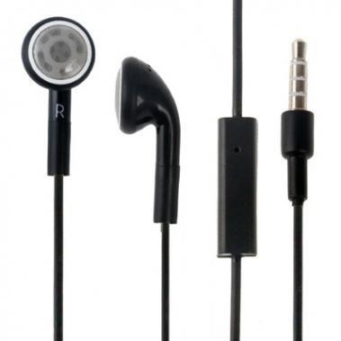 Headset Stereo zwart voor Apple