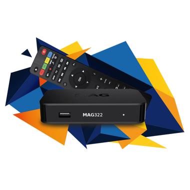 MAG 322/323 IPTV Set-opBox