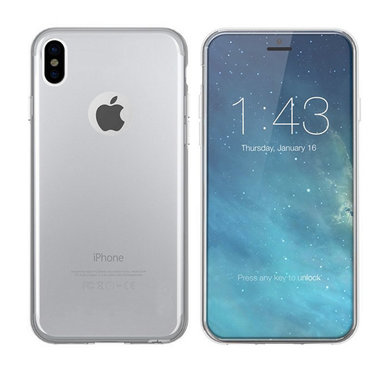 Hoesje CoolSkin3T voor Apple iPhone XS MAX Tr. Wit