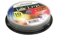 Nashua DVD-R cakebox 10