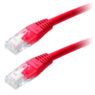 UTP CAT  netwerk kabel 3 m Rood