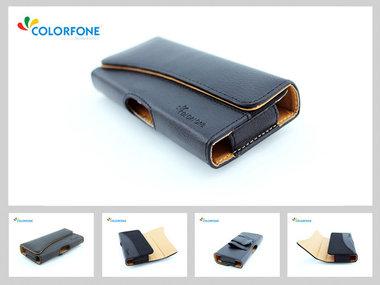 Lederen riemhoesje Iphone 4, 4S
