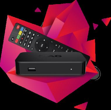 MAG420/420w1 IPTV/OTT Set-top box 4K
