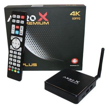 ArroX Premium 5G Plus 4K,IPTV en Android ontvanger