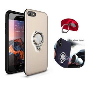 BackCover Ring voor Apple iPhone 7/8Goud