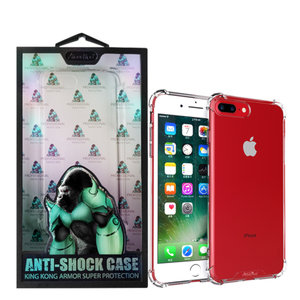 Atouchbo Backcover Anti-Shock TPU + PC voor Apple iPhone 7/8 Plus Transparant