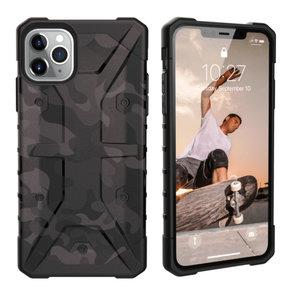 Backcover Shockproof Army voor Apple iPhone 11 (6.1) Zwart